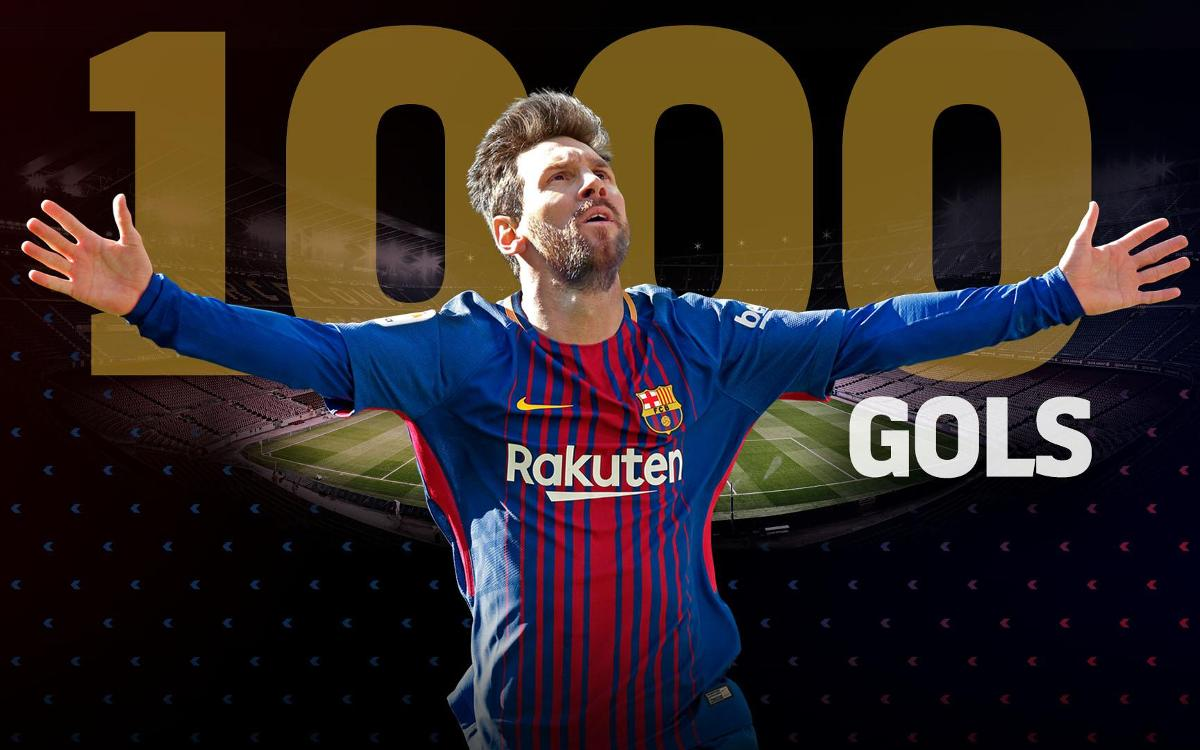 Lionel Messi arriba als 1.000 gols com a futbolista