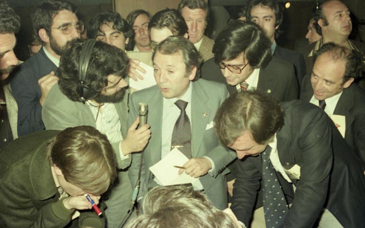 FCバルセロナ、初の民主選挙から40年
