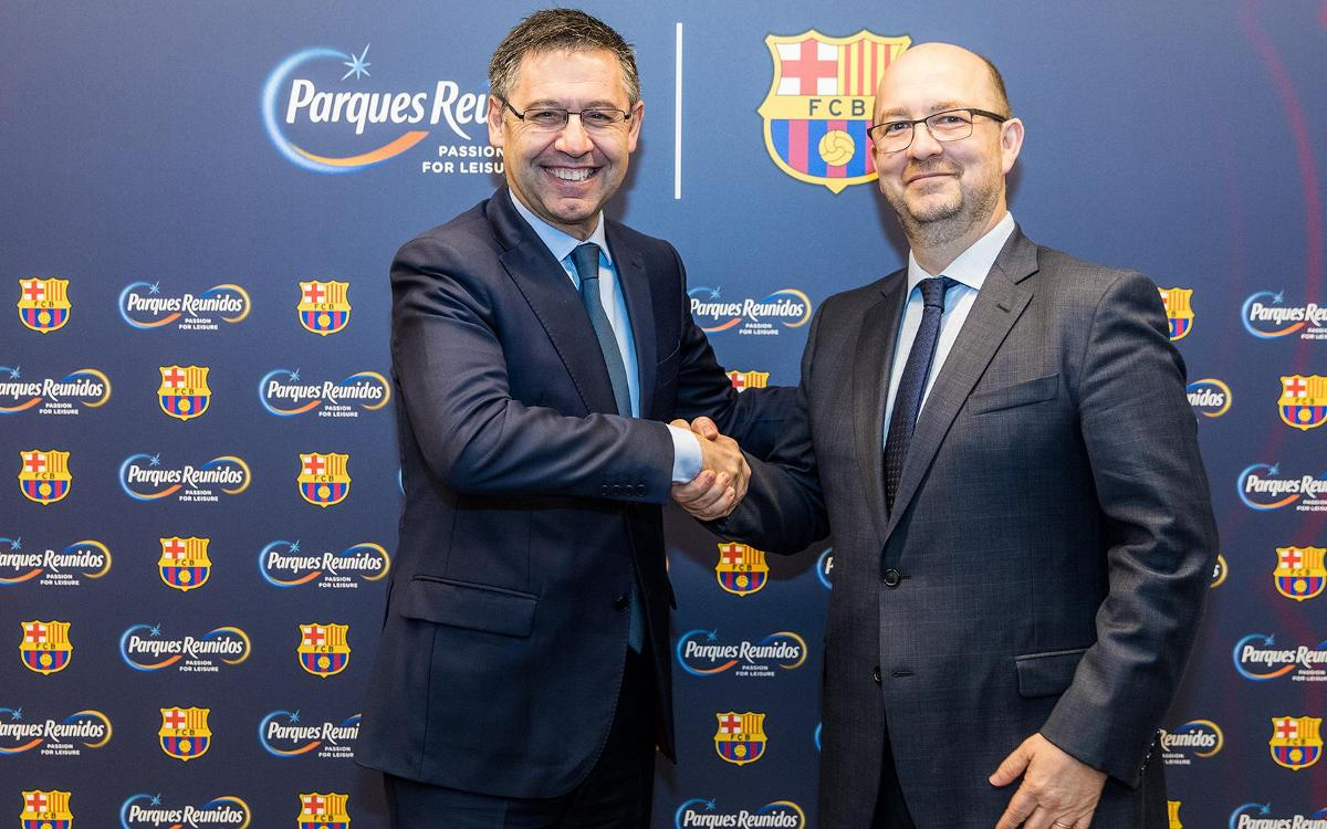 FC Barcelona and Parques Reunidos to open minimum of five parks for Barça Experiences