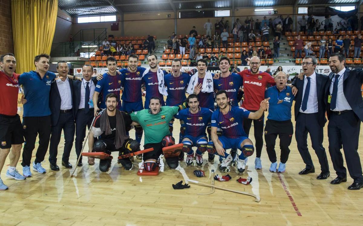 ICG Software Lleida v Barça Lassa: OK Liga Champions! (2-4)