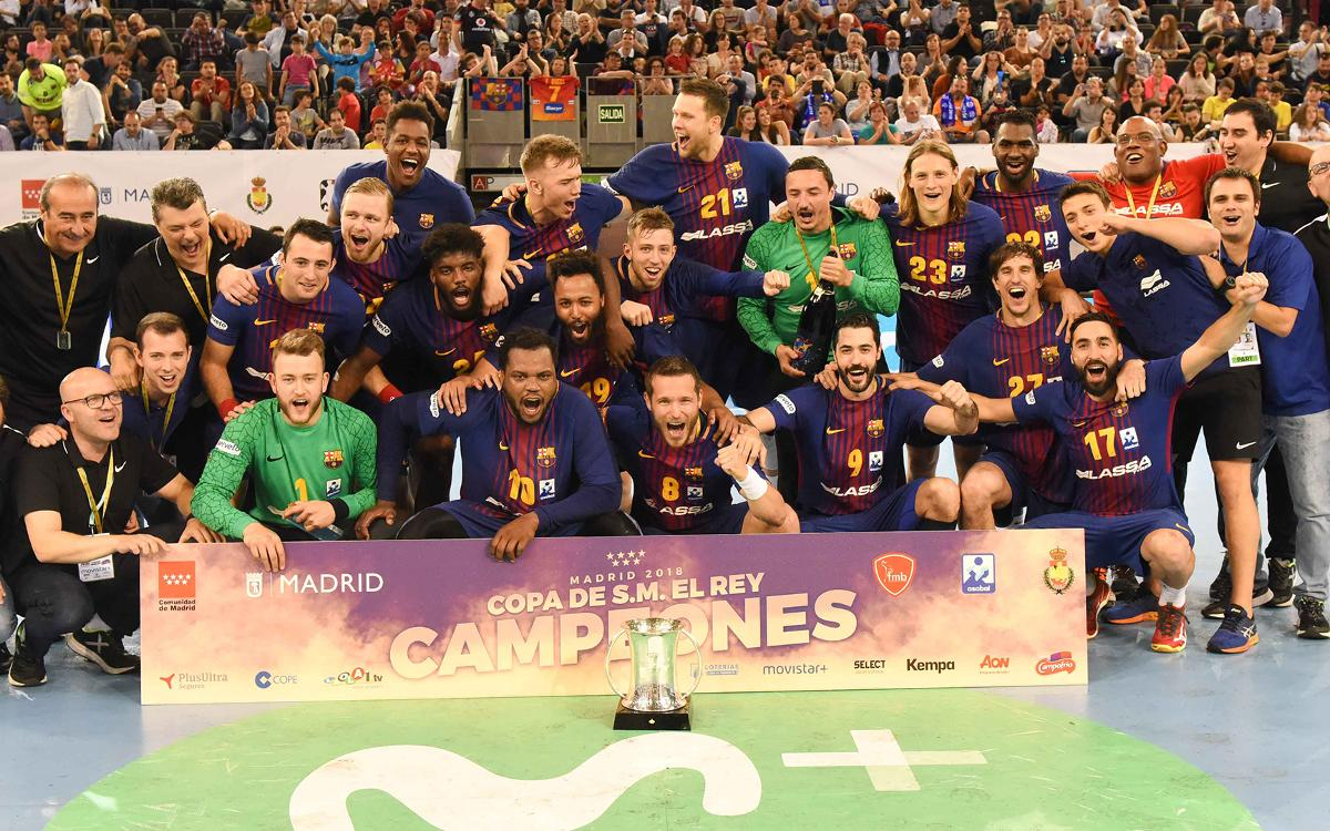 FC Barcelona Lassa - BM Logroño La Rioja: The fifth consecutive Cup arrives! (35-28)