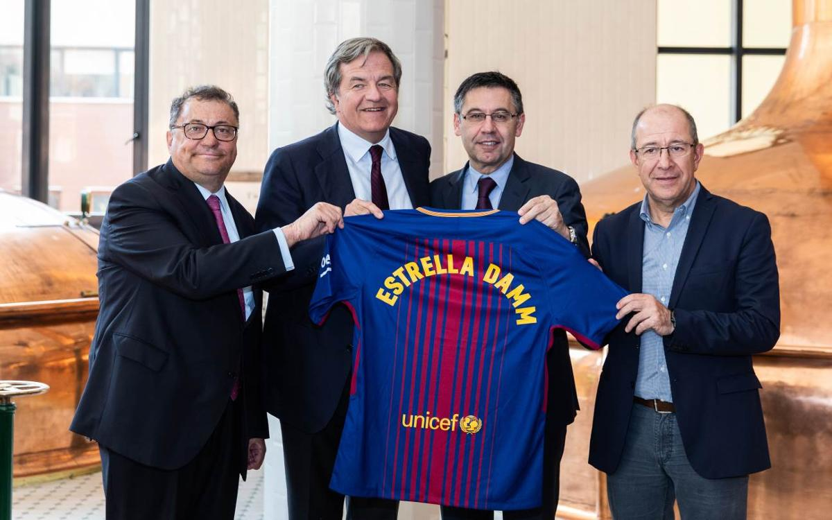 Estrella Damm, new FC Barcelona Global Partner