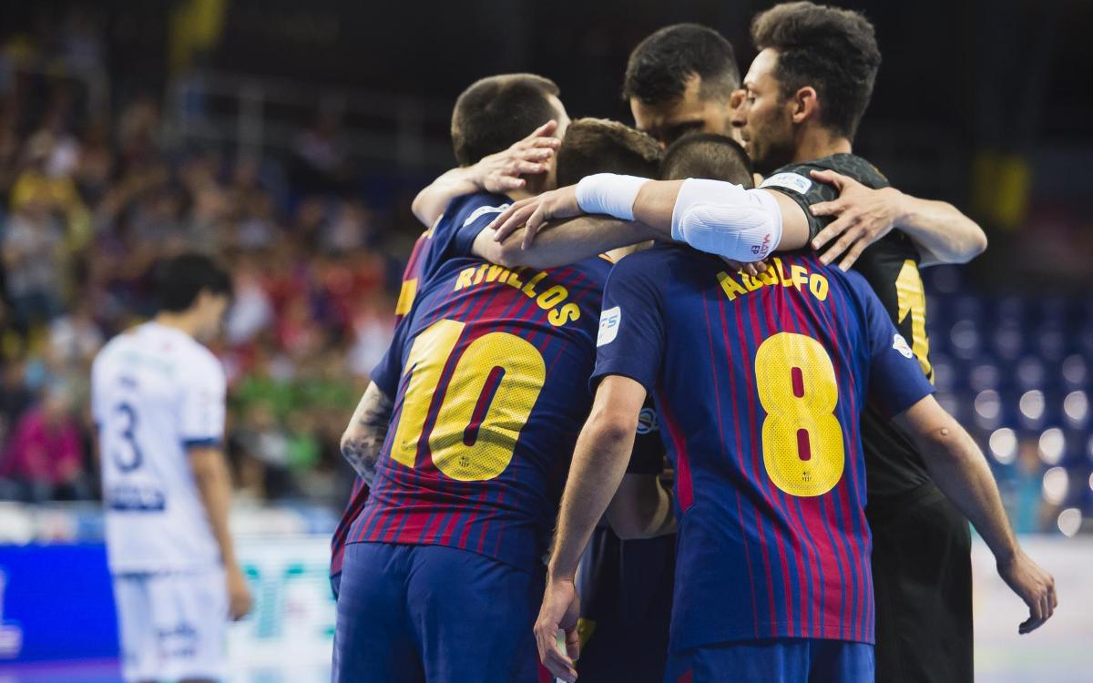 FC Barcelona Lassa 4-1 Ríos Renovables Zaragoza: Into the semis