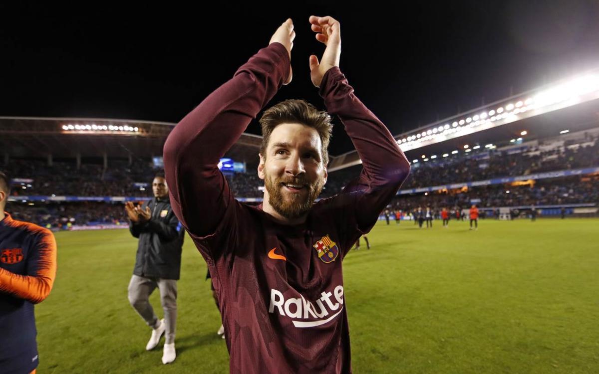 """Lionel Messi: """"Andrés Iniesta mereixia marxar així"""""""