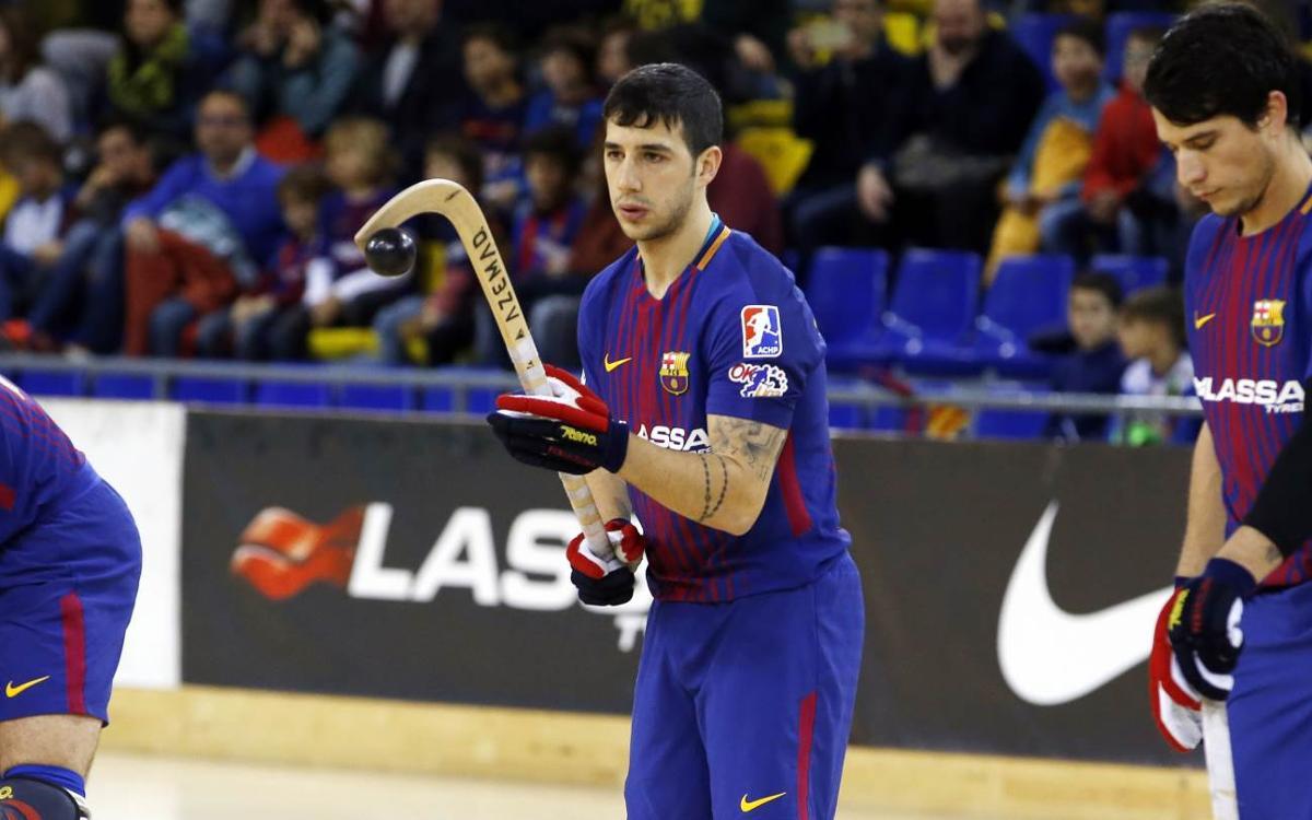 Lucas Ordoñez deixarà de ser jugador del FC Barcelona Lassa