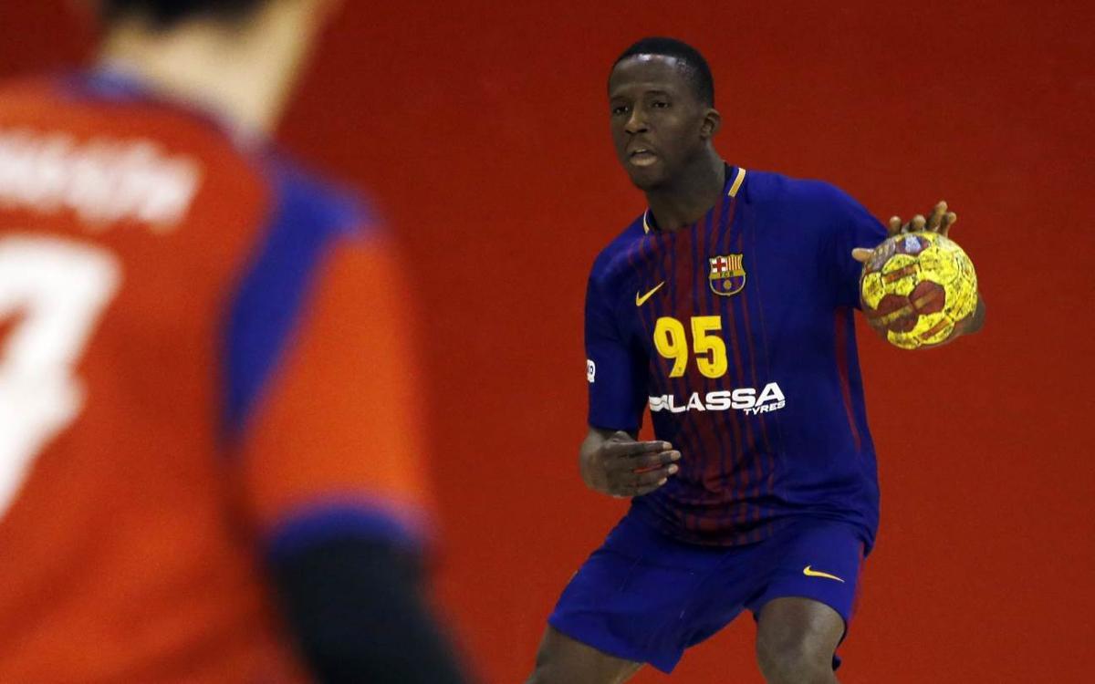 Barça Lassa B – BM Villa de Aranda (22-15): Triomf en el darrer partit a la Ciutat Esportiva