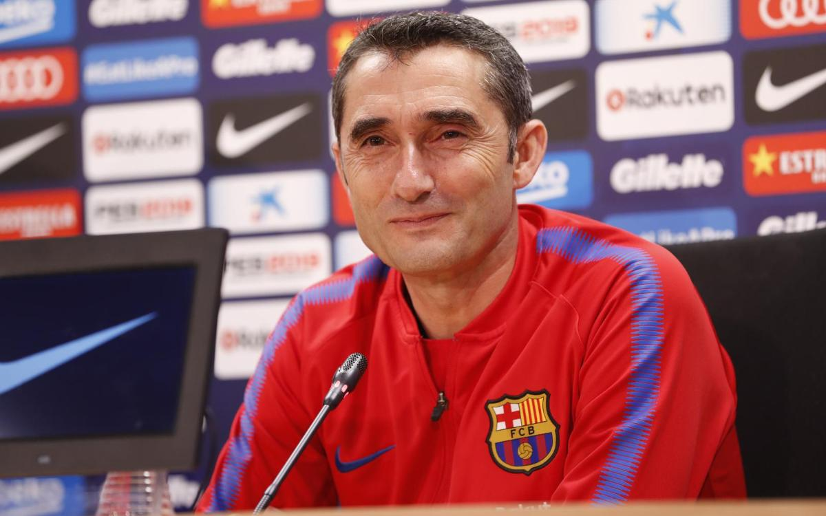 Ernesto Valverde: 'Levante have some incredible numbers from the last few matches'