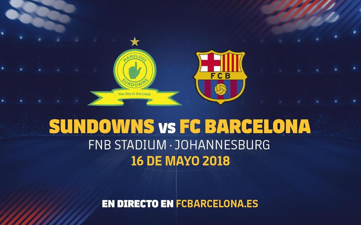 El Barça jugará un amistoso en Sudáfrica el 16 de mayo en el marco de los actos del centenario del nacimiento de Nelson Mandela
