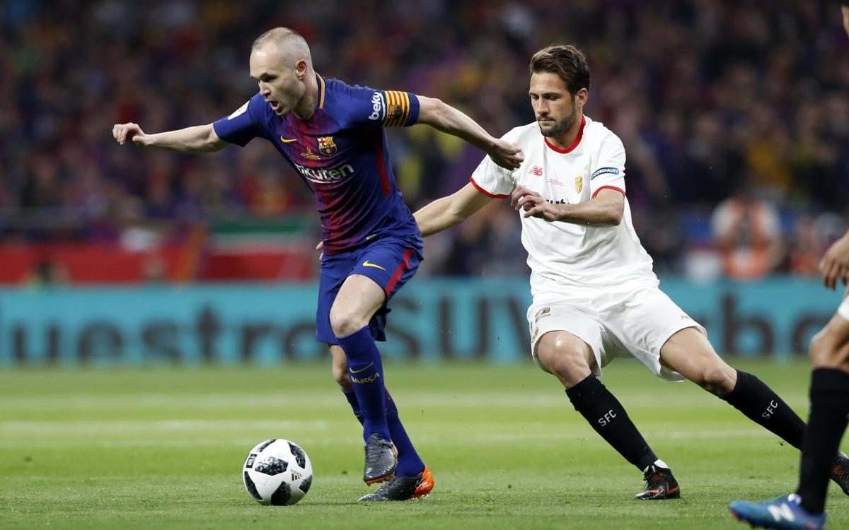 Copa del Rey final highlights: Sevilla v FC Barcelona