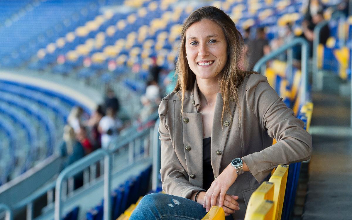 Gemma Gili: Los ojos de la jugadora en el Espai Barça
