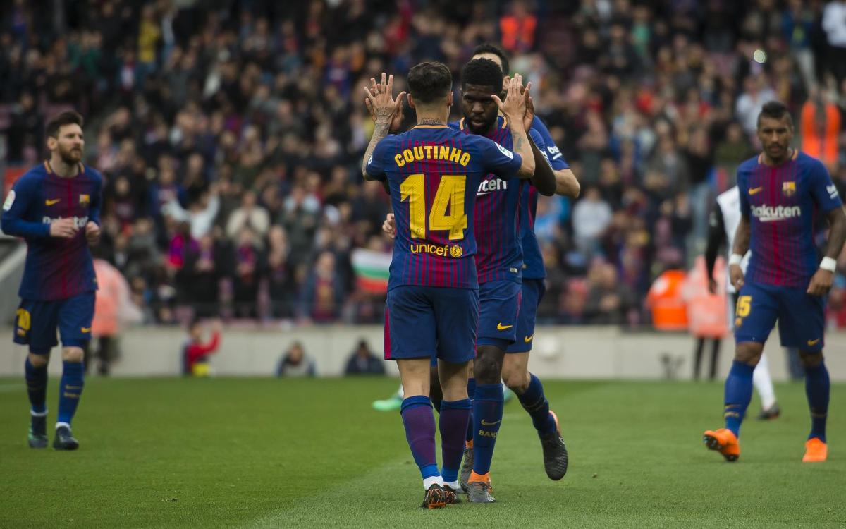 VIDEO: Coutinho's first five assists for Barça!