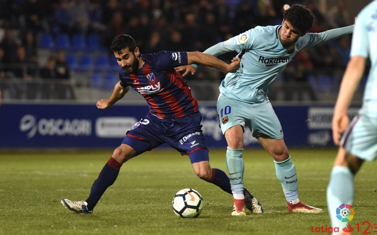 SD Huesca v FC Barcelona B: Fighting until the end (2-1)