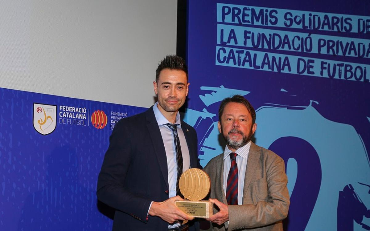 La FCF premia Paco Sedano pels seus valors solidaris