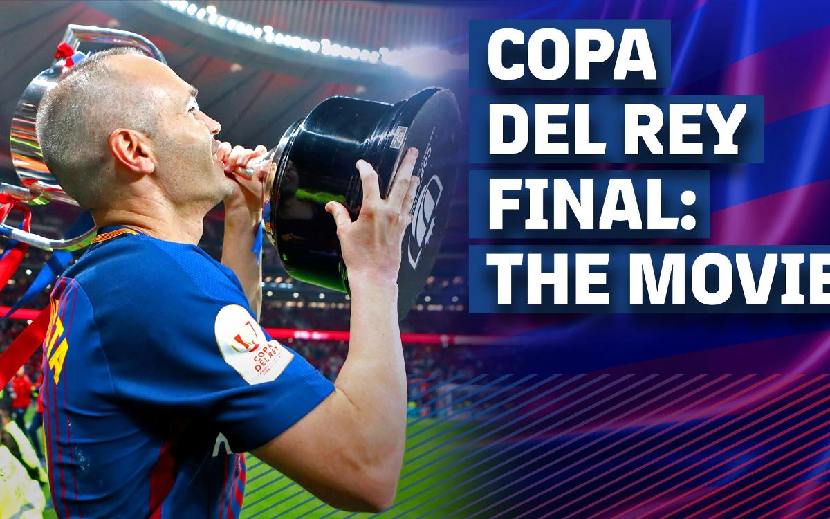 Inside FC Barcelona's record-extending Cup victory!