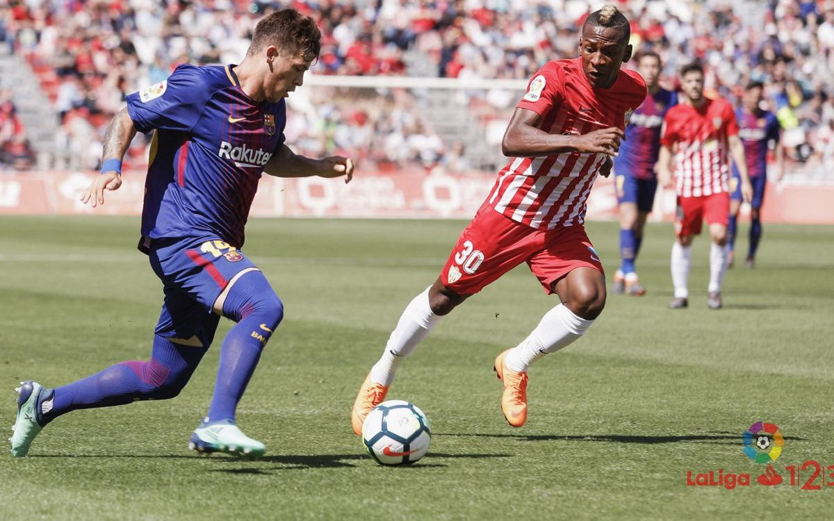 UD Almeria - FC Barcelona B: An unfortunate loss (1-0)