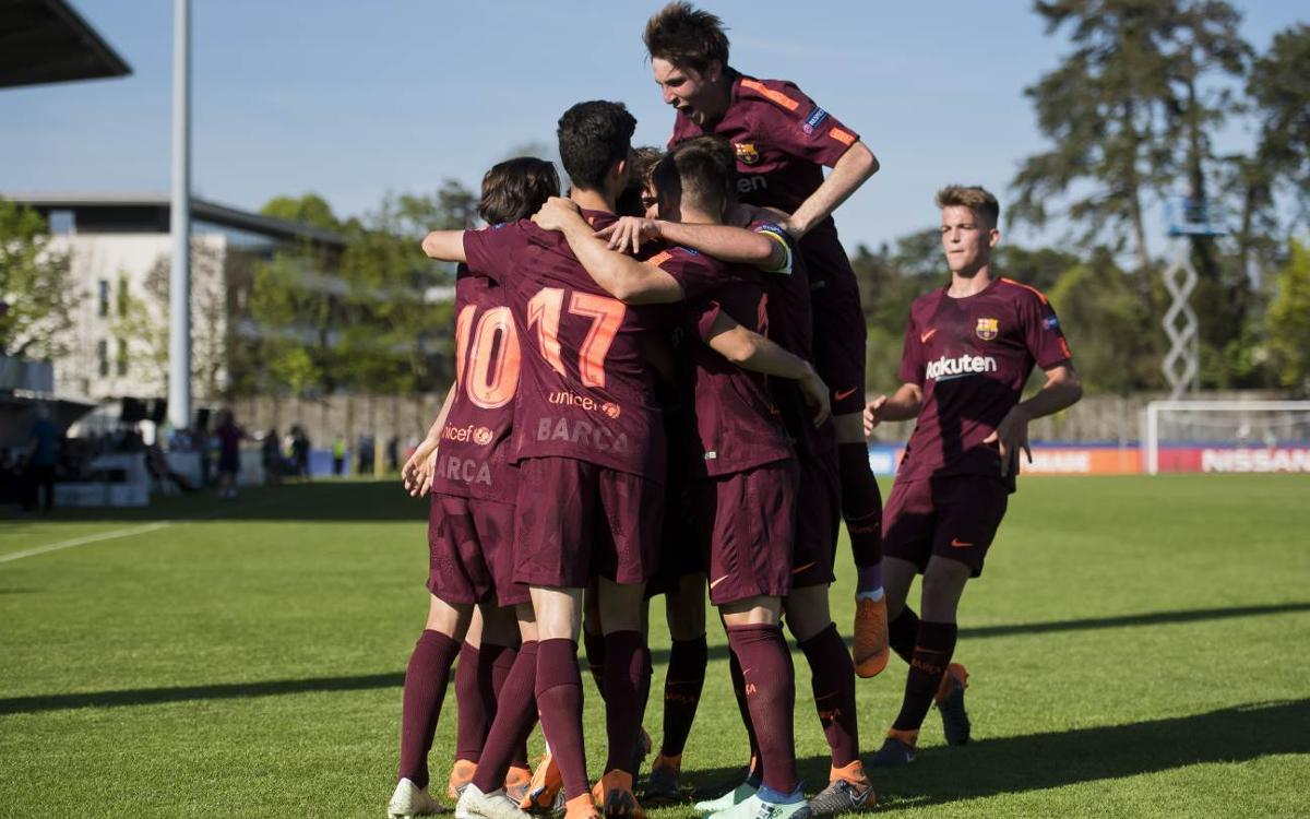 Manchester City 4-5 FC Barcelona: UEFA Youth League finalists!