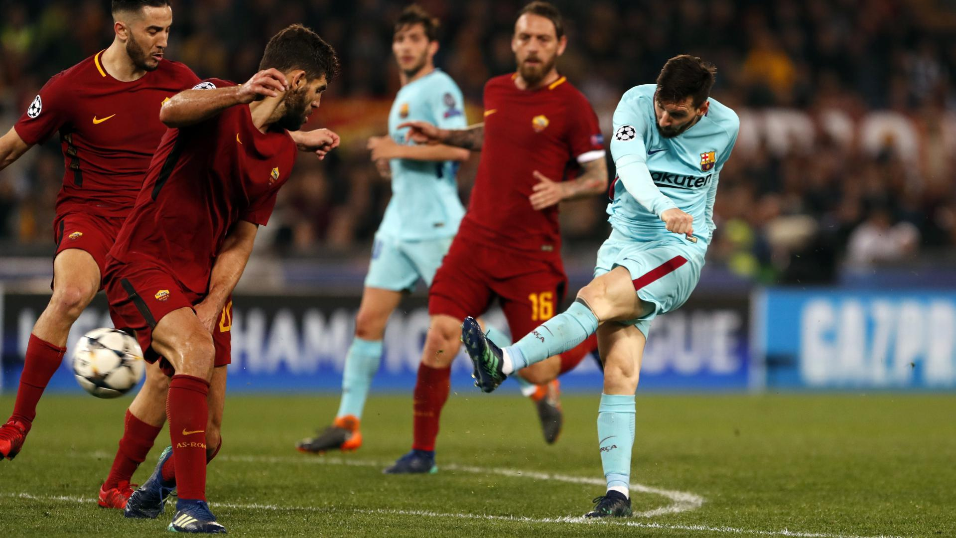 As Rom Vs Barcelona