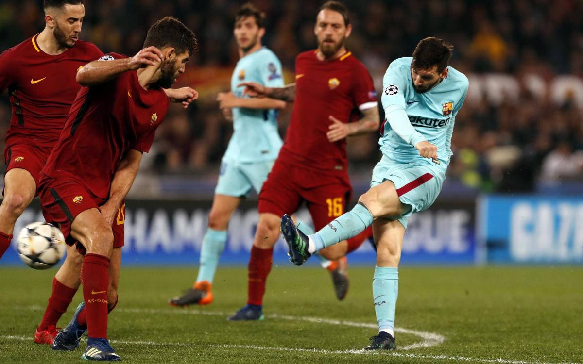 HIGHLIGHTS: Roma vs FC Barcelona