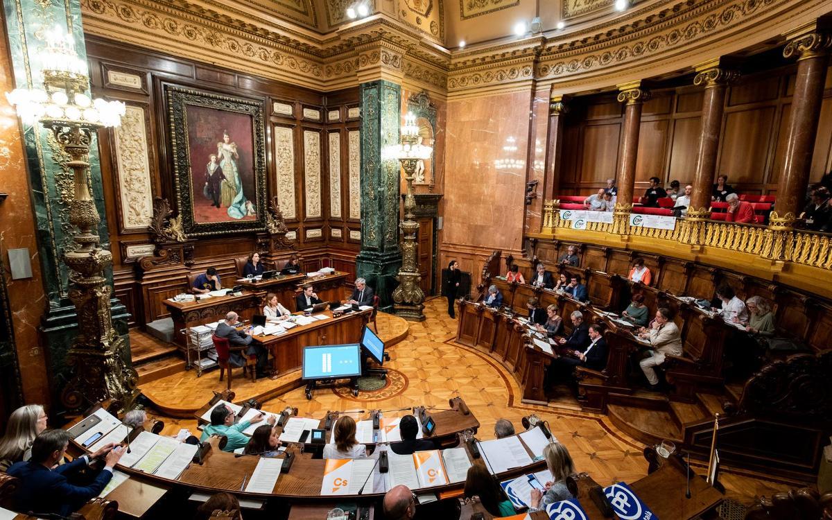 El plenari de l'Ajuntament aprova amb un ampli consens el planejament urbanístic que farà possible l'Espai Barça
