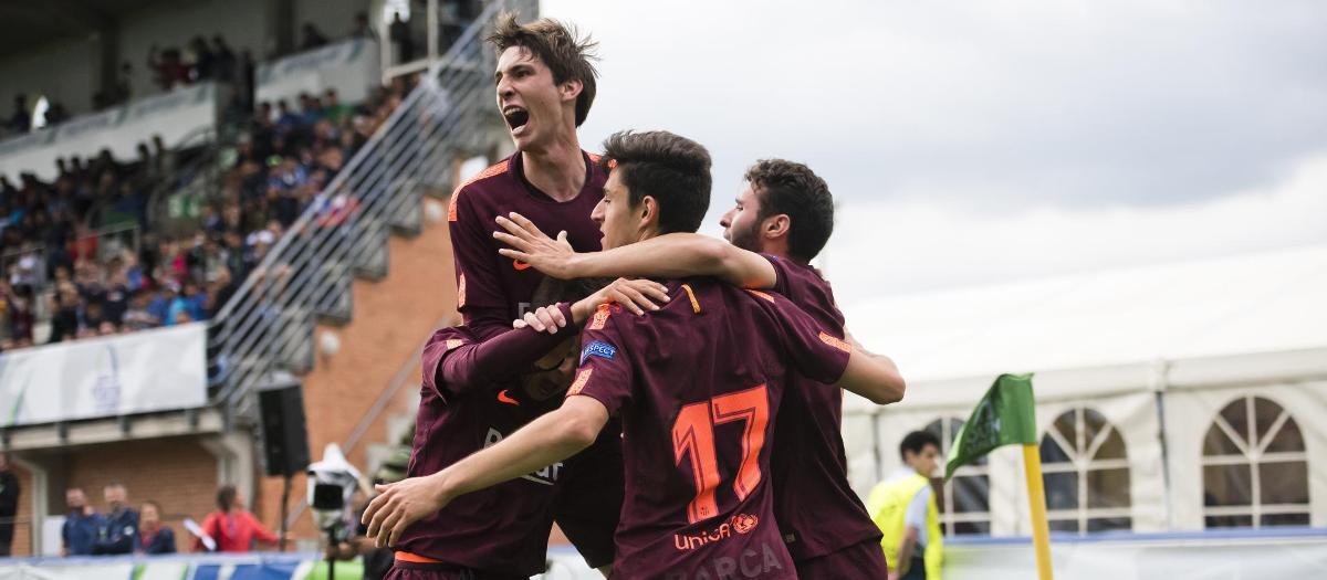 UEFA ユースリーグチャンピオン! (0-3)