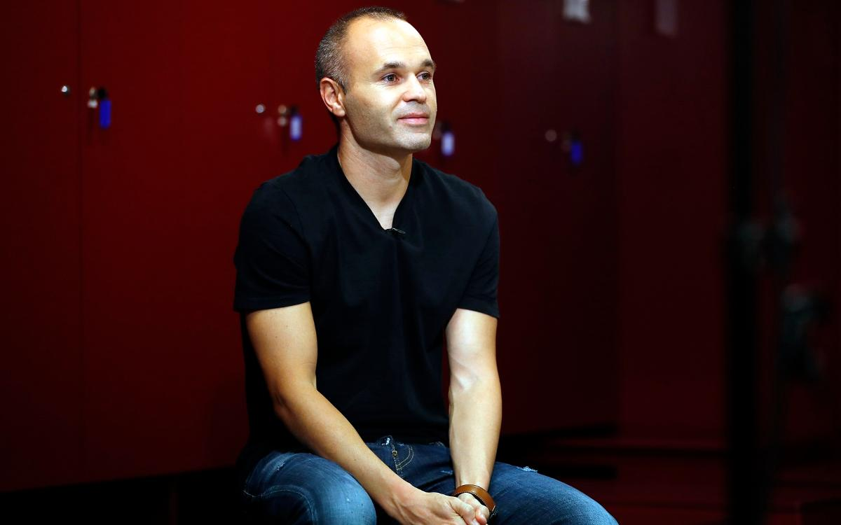 INTERVIEW: Andrés Iniesta, a life at Barça