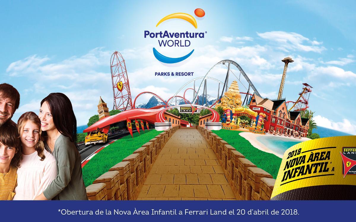 Importants descomptes per gaudir de PortAventura Park i de Ferrari Land