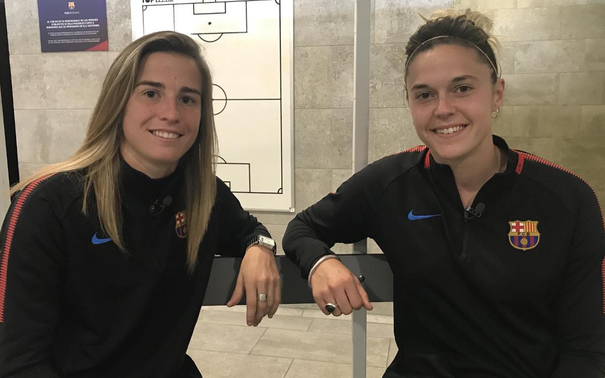 Bárbara i María León: trajectòria en comú entre somriures
