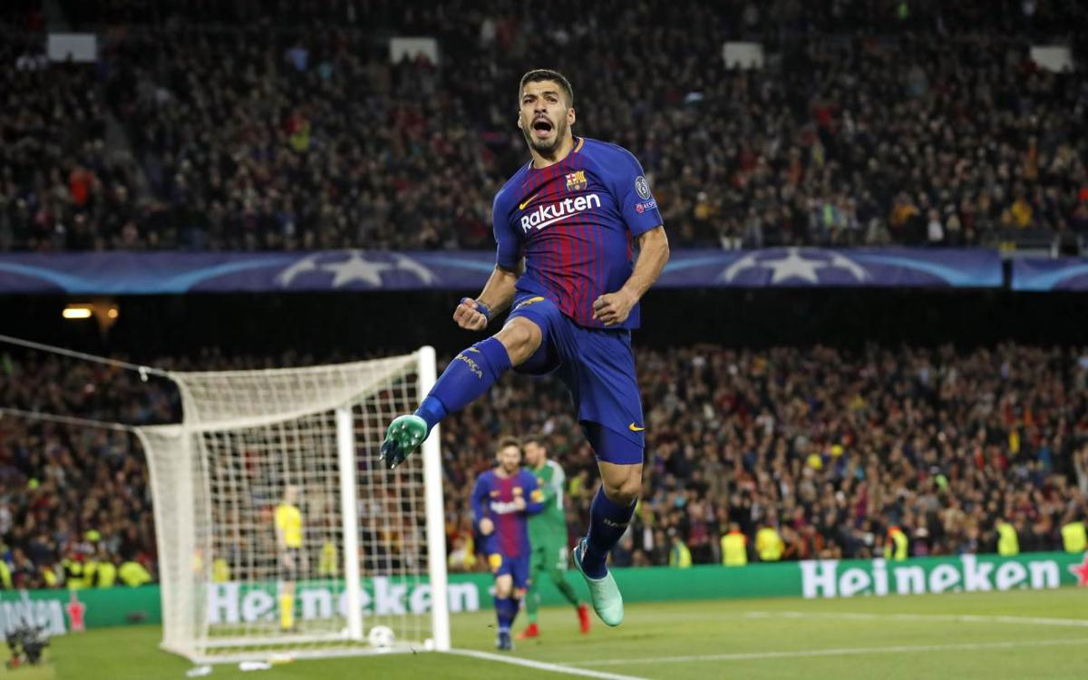 FC Barcelona - AS Roma: Goleada para acariciar las semifinales (4-1)