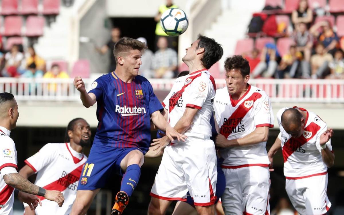 Barça B 2-3 Rayo Vallecano: Beaten by the leaders