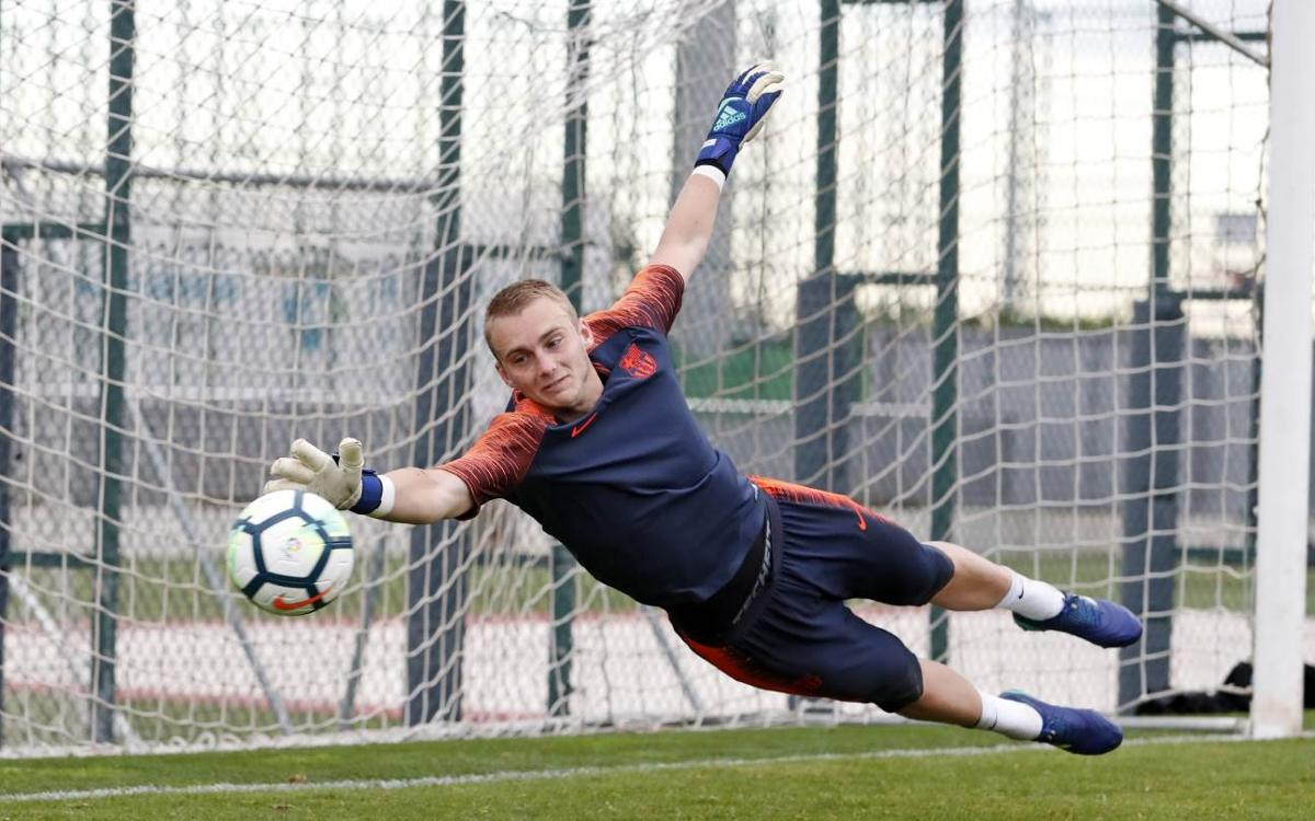 Cillessen ready for Copa del Rey final