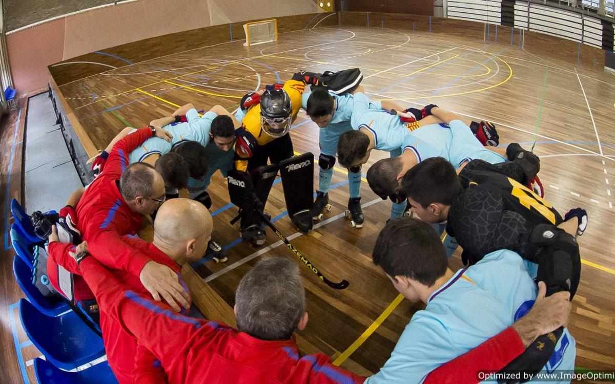 La Minicopa de hockey patines en Lloret de Mar