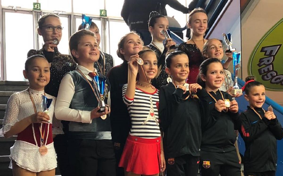 La sección de patinaje recoge once medallas en Andorra