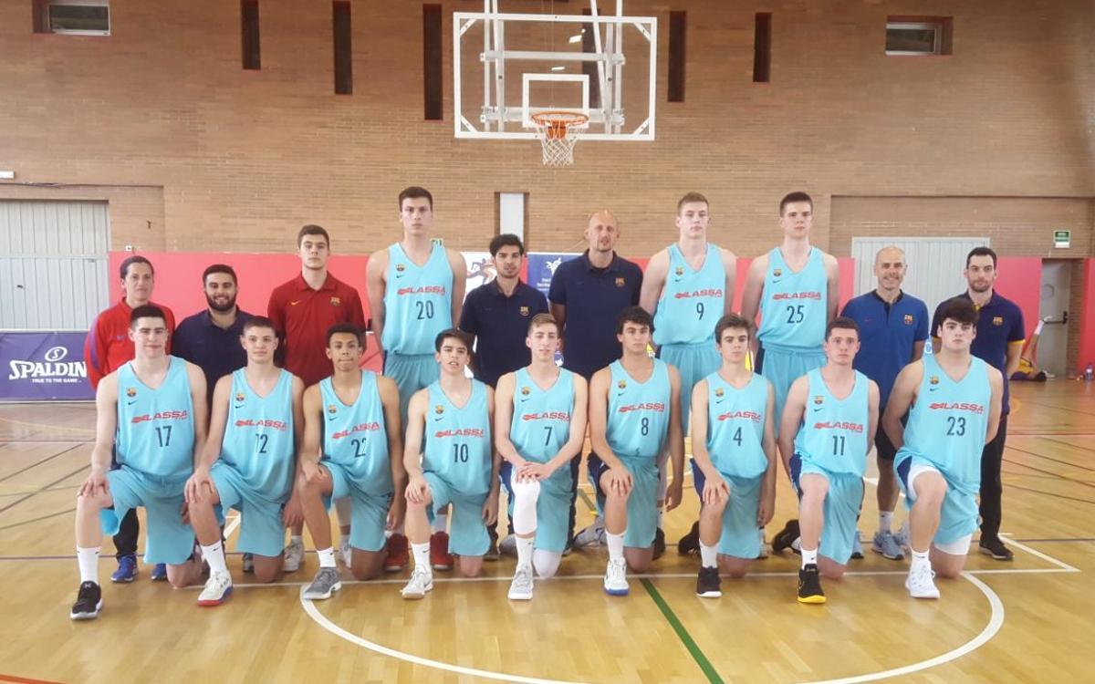 Joventut - Barça Lassa (95-85): Subcampeones de Catalunya Junior