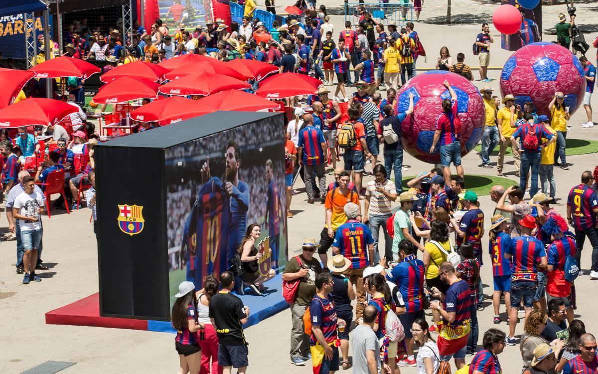 FCBDesplaçaments trasllada 3.800 seguidors a la final de Copa