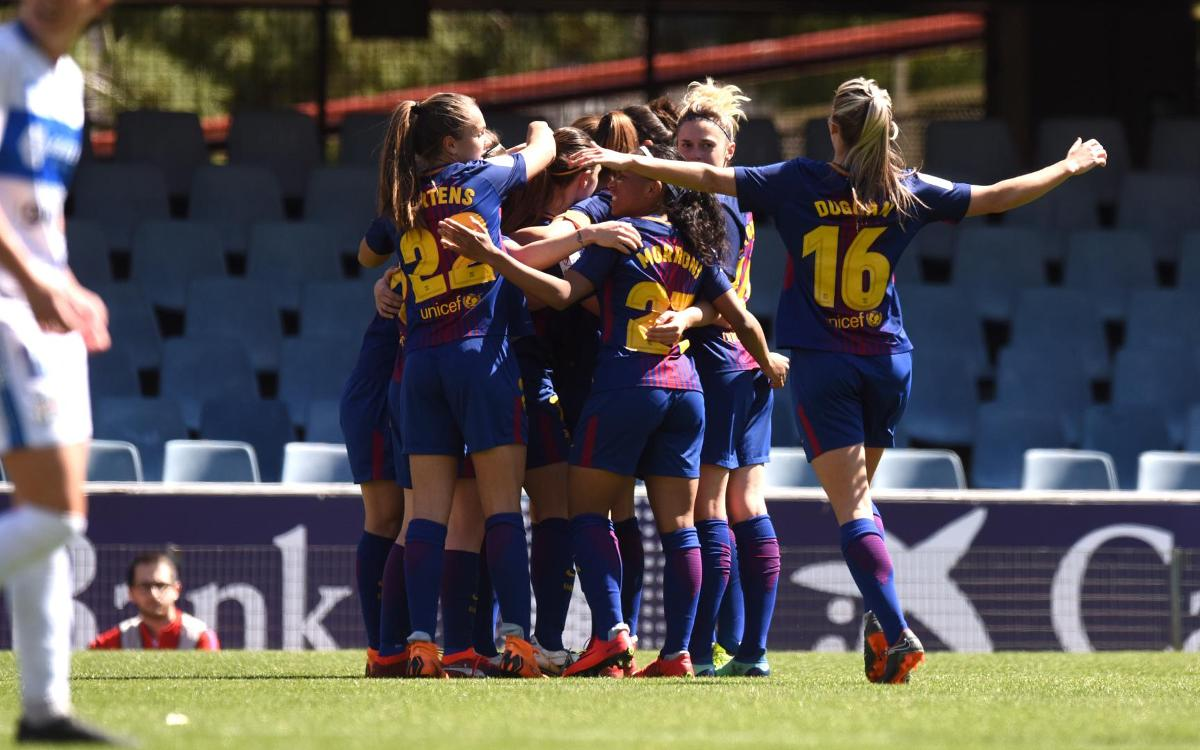 Barça Women v Granadilla: Confident win (3-1)