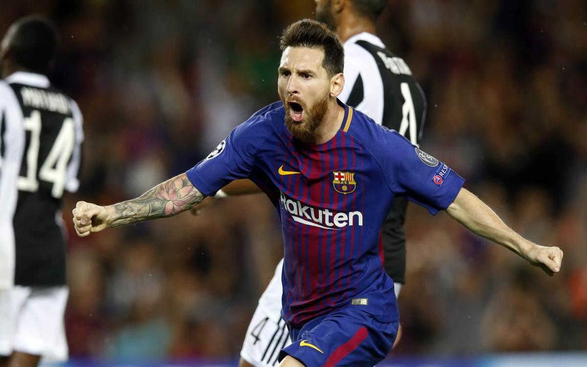 FC Barcelona- Juventus: Impera el regnat de Messi (3-0)