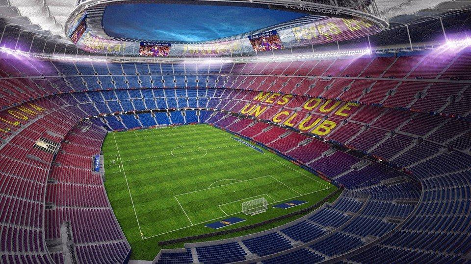This is the future camp nou - Camp nou 4k wallpaper ...