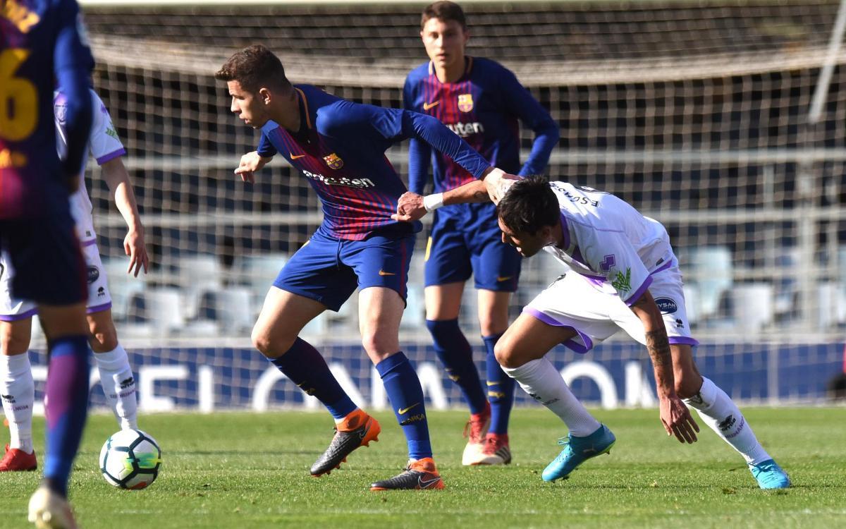 Barça B - CA Osasuna: Un histórico de Primera visita el Mini