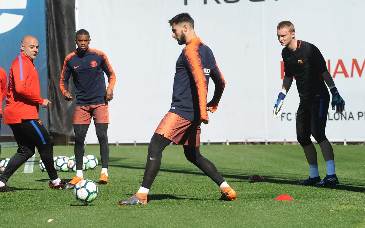 André Gomes and Cillessen return to work
