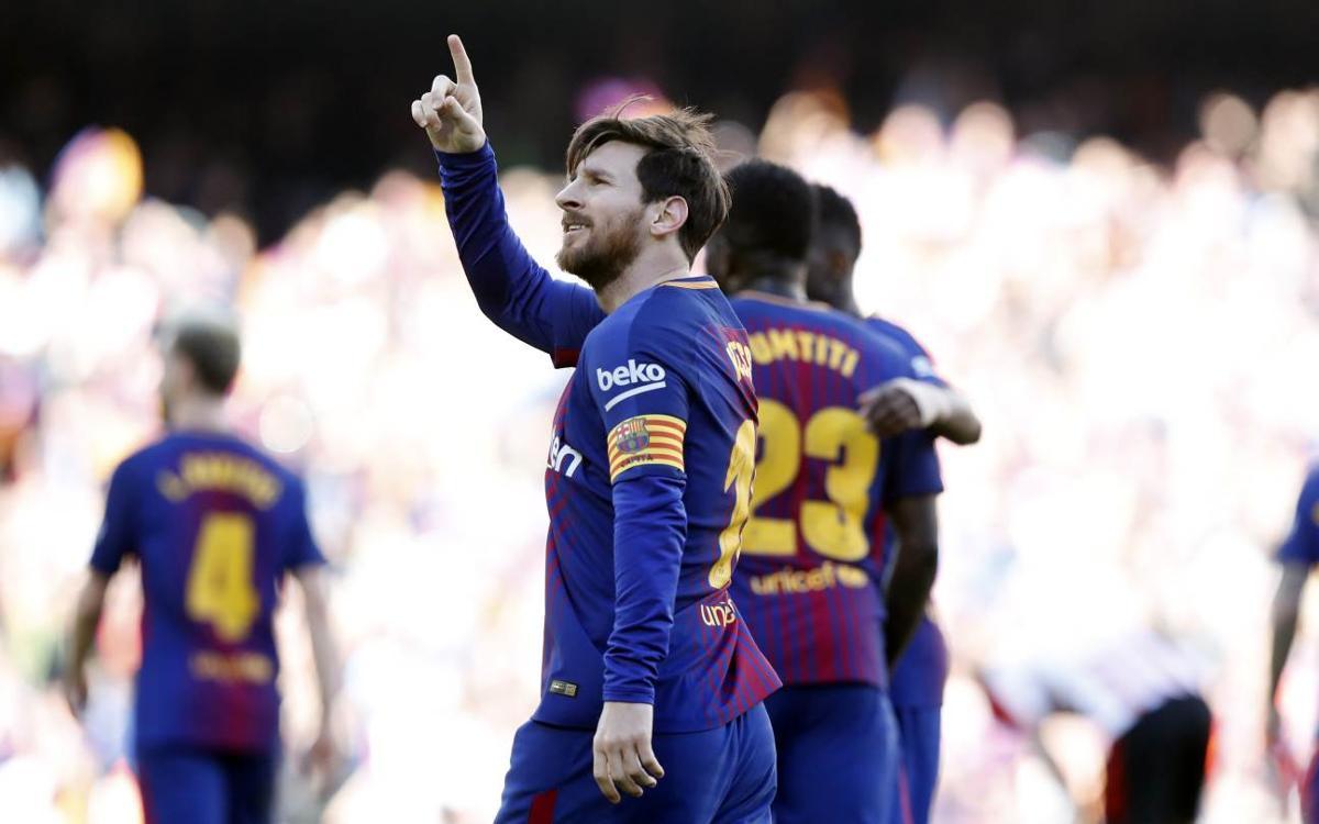 La enésima exhibición de Lionel Messi