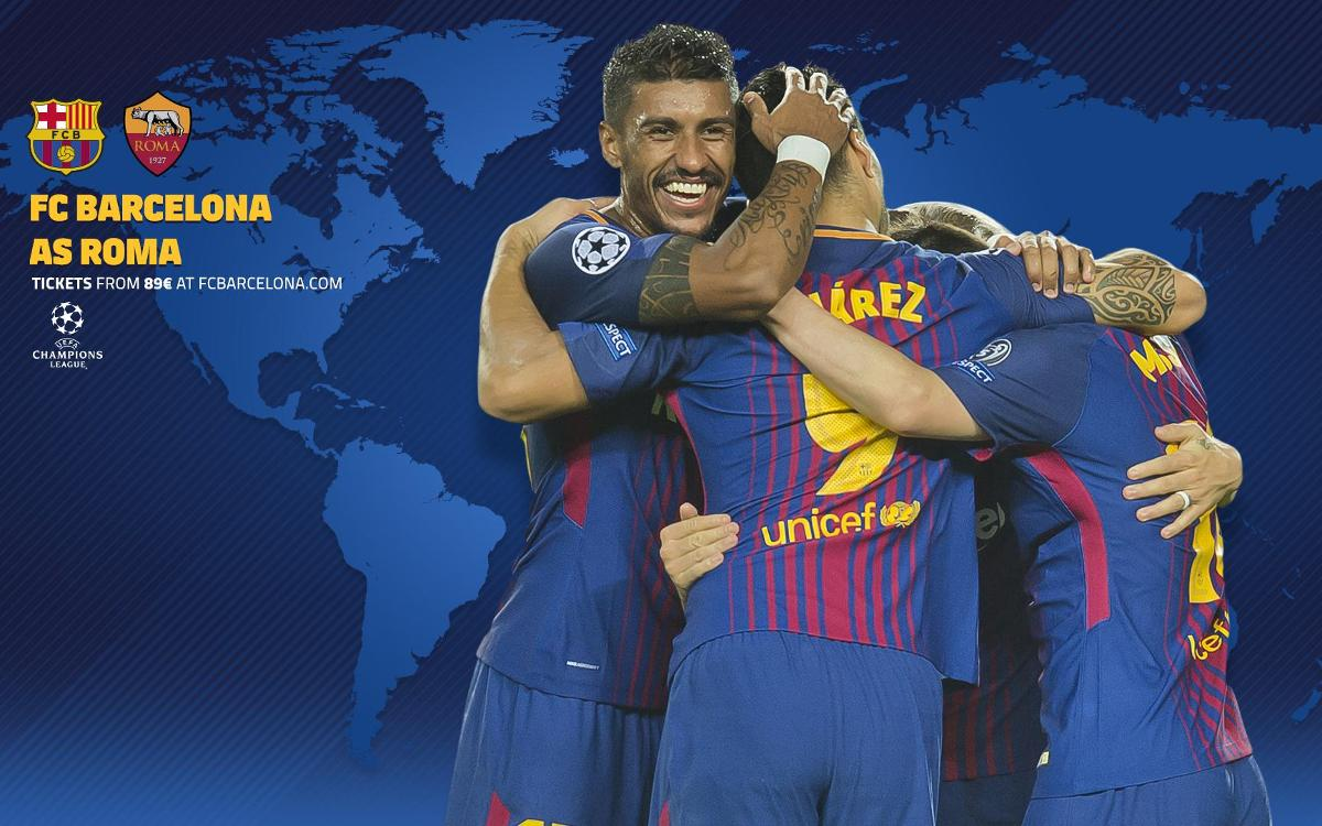 When and where to watch Barça vs Roma in the first leg of the UEFA Champions League quarterfinals