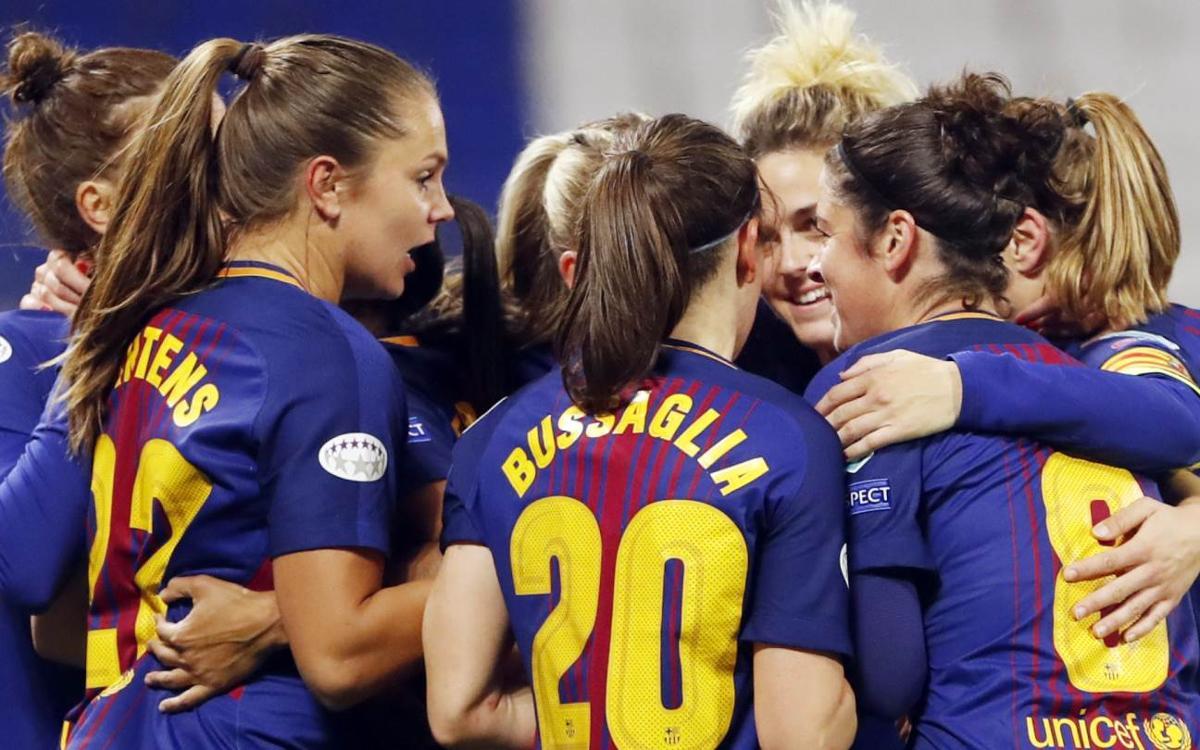 FC Barcelona Femenino - Olympique de Lyon (previa): De ensueño