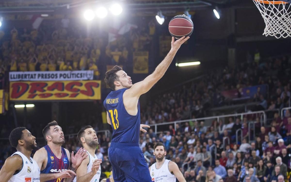 Barça Lassa routs Real Madrid in Liga ACB Clásico, 94-72