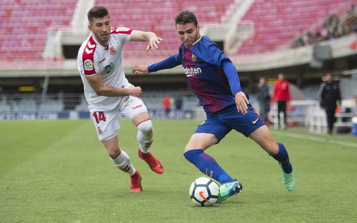 Barça B – Cultural Lleonesa: Un gol matiner condemna els blaugranes (0-1)