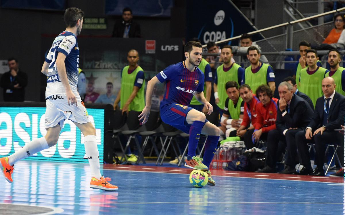 Dyego, baja para el partido en Pamplona