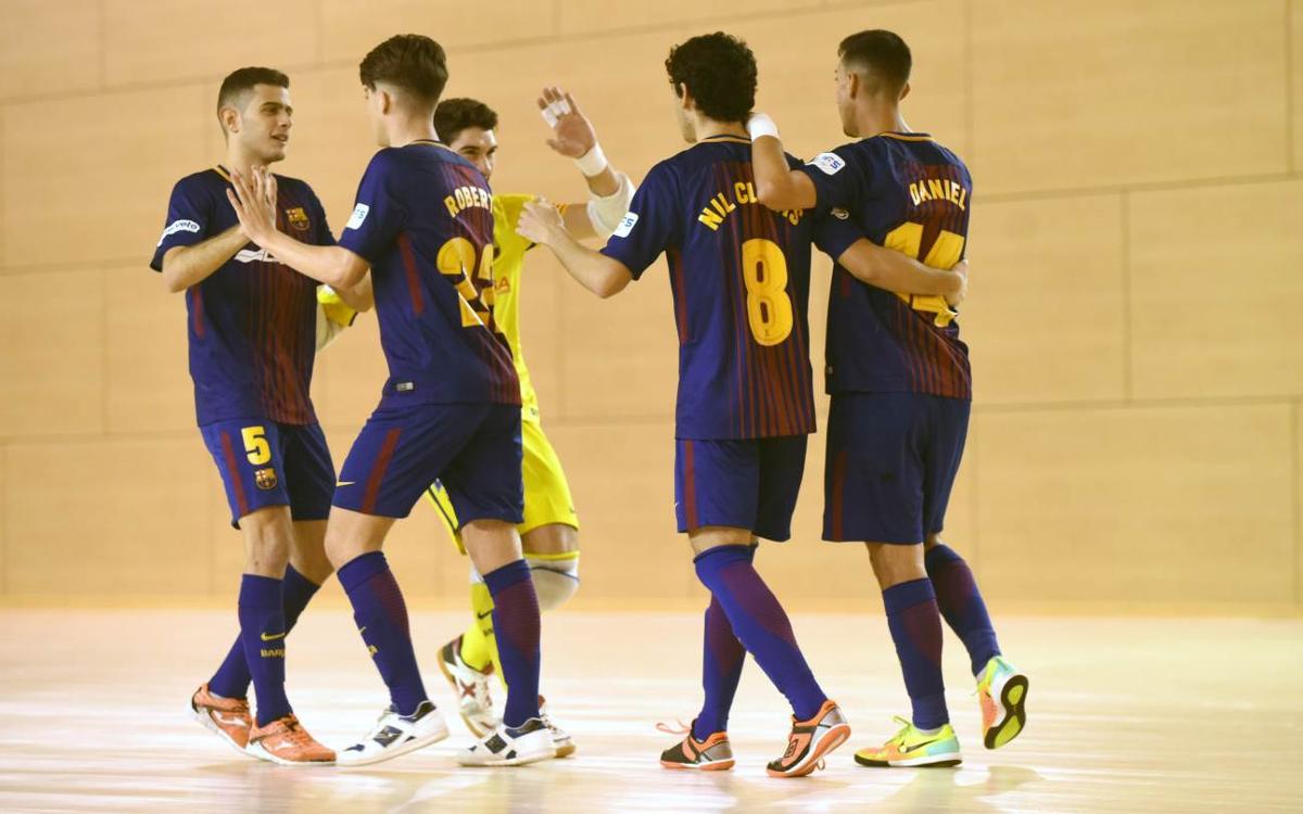 El Pozo Ciudad de Murcia B - Barça Lassa B (2-2): Empate en el duelo de filiales