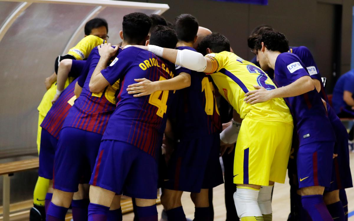 Barça Lassa B - Itea Córdoba (9-4): Triunfo de conjunto