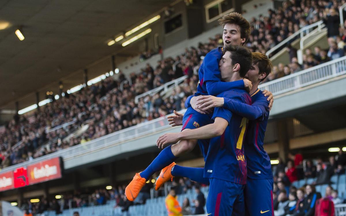 FC Barcelona U19A – Atlético Madrid: Into the Final Four! (2-0)