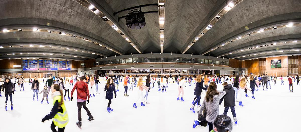 FC Barcelona's Ice Skating Rink