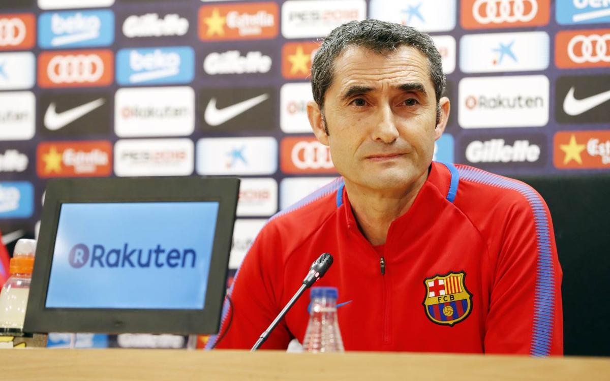 Ernesto Valverde: 'We still have a lot to win'